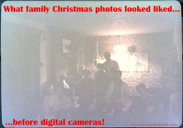 Xmas Photos Before Digital Cameras