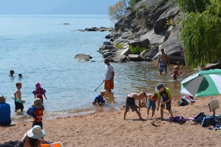 Ellison Provincial Park Beach