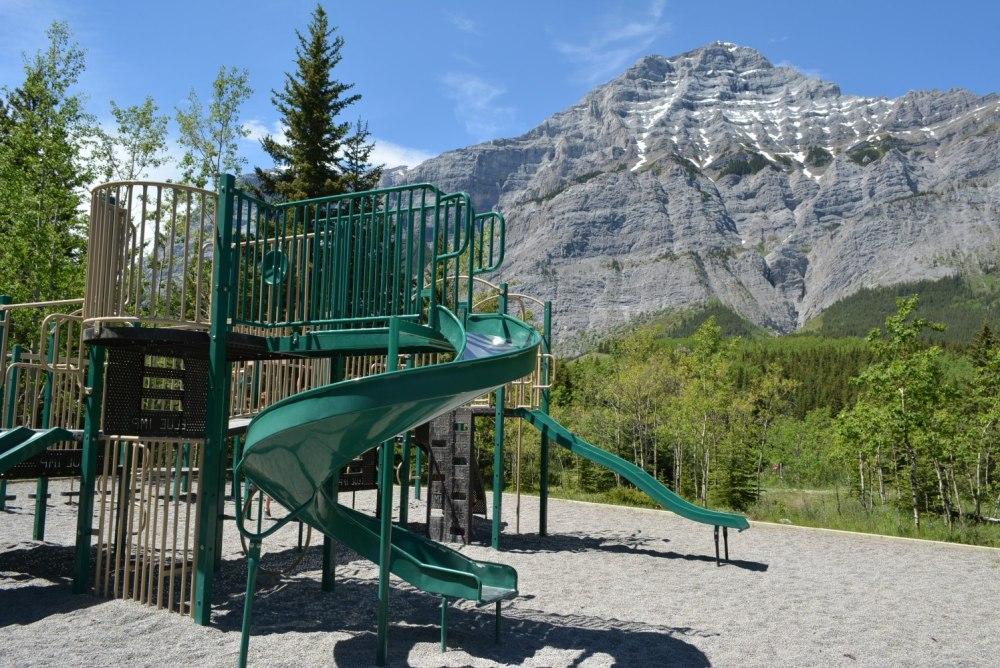 Mount Kidd RV Park Playground