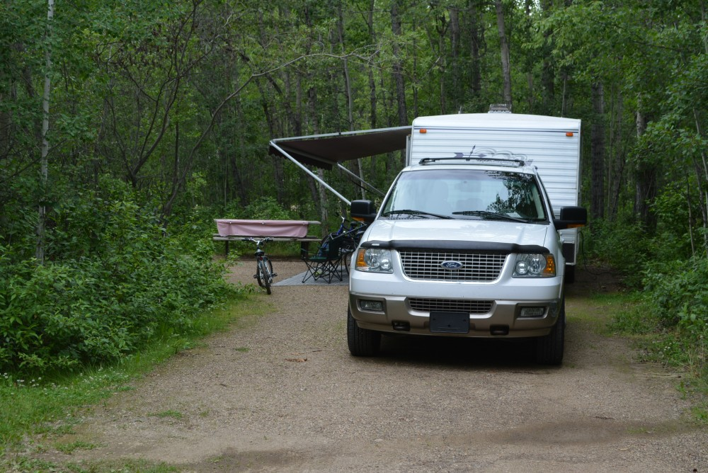 pigeon lake provincial park campground review a crock. Black Bedroom Furniture Sets. Home Design Ideas
