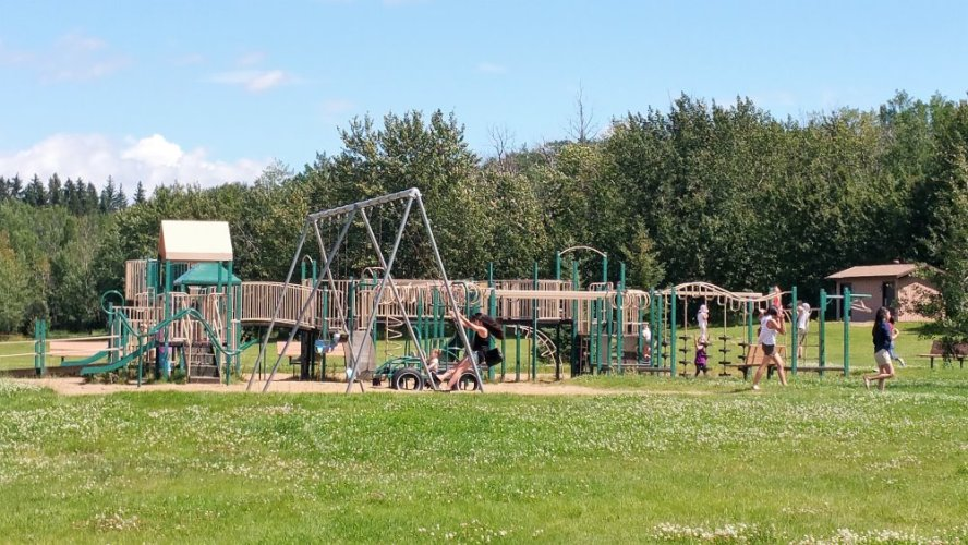 Main Beach Playground Miquelon Lake