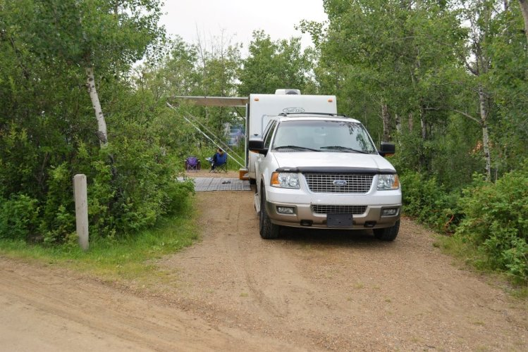 Miquelon Lake Campsite