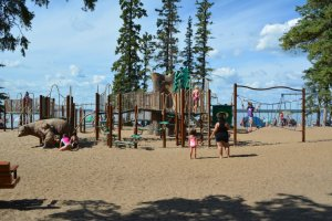 main-beach-playground-at-waskesiu