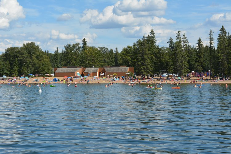 main-waskesiu-beach-from-pier