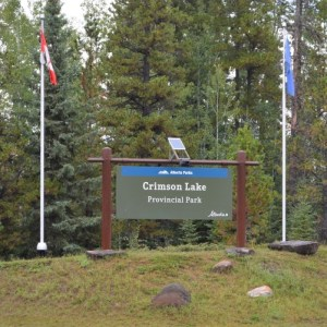 Crimson Lake Provincial Park – review