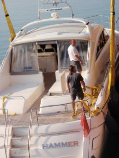 Yacht Logistics and delivery service