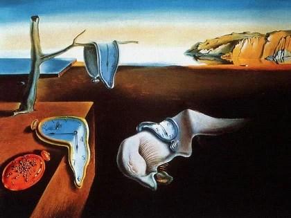 La persistenza della memoria - Salvador Dalì
