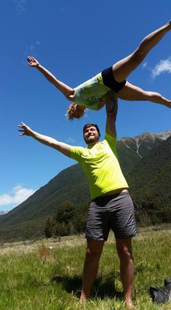 High flying Crocodile. Current nemesis in my acro world. Right hand side solid as… left hand s