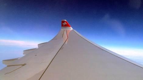 Flug in eine andere Welt