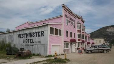 Dawson City, wie im «Wilden Westen».