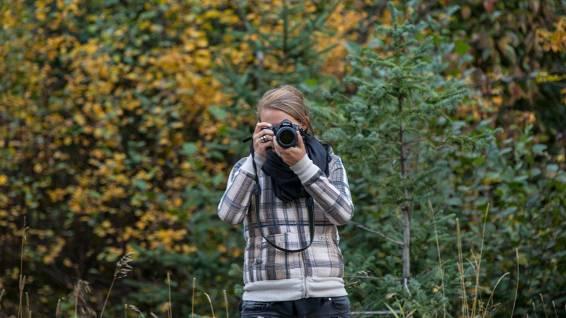 Achtung Paparazzi! Isa fotografiert leidenschaftlich gern.