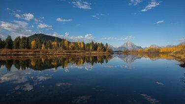 Es ist Indian Summer im Grand Teton National Park.