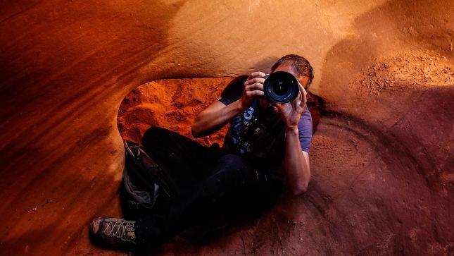 Peek-a-Boo Canyon: klettern, quetschen, kriechen und es lohnt sich!