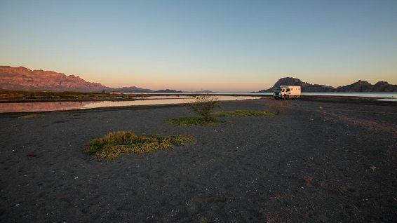 Die Baja bietet viele schöne Plätze zum Wild-Campen.