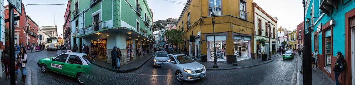 Guanajuato ist eine sehr lebhafte Stadt.