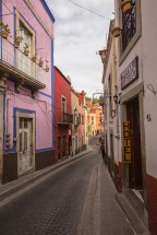 Wir schlendern stundenlang durch die Gassen von Guanajuato.