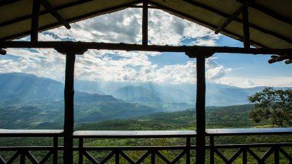 Berglandschaft in Kolumbien.