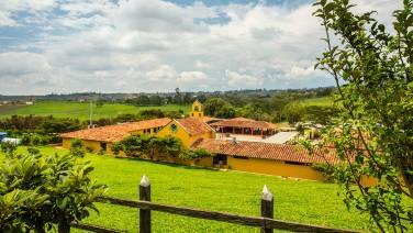Für einmal eine schöne Touri-Meile in Chicamocha.