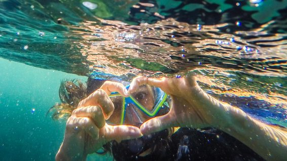 Ich liebe die Unterwasserwelt auf Galapagos!