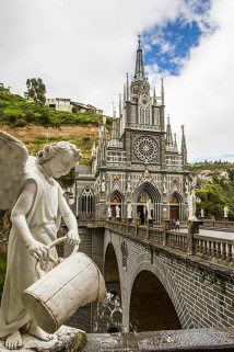 Die weltberühmte Kirche von Las Lajas.