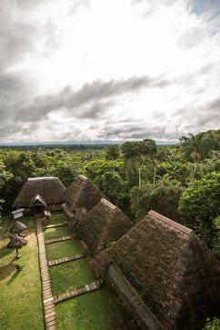 Die Caiman-Lodge liegt mitten im Cuyabeno-Naturreservat.
