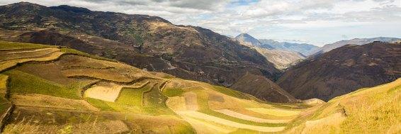 Der Süden von Ecuador verwöhnt uns spektakulären Aussichten.