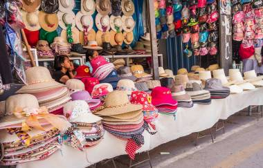 In Peru tragen alle einen Hut.