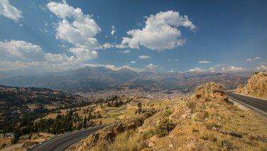 Carrera-Rennbahn in Peru ;)