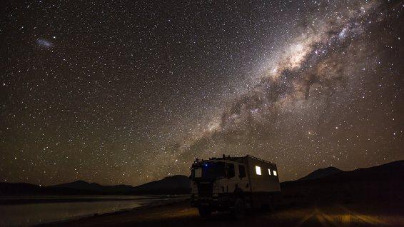 Nachts sind die Sterne ganz nah.