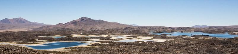Seenlandschaft ganz im Norden von Chile.