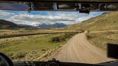 Weiter gehts über den Paso Roballos nach Argentinien.