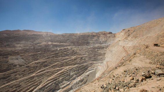 Chuquicamata ist eine der grössten Open-Pit Kupferminen der Welt.
