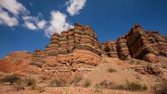 Unser Highlight in Nord-Argentinien ist die Quebrada de las Conchas.