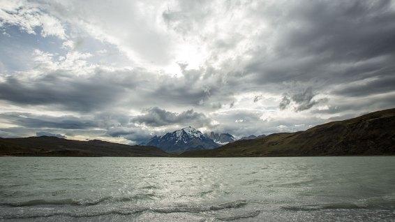 Anreise zum Torres del Paine Nationalpark.