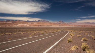 Flucht aus San Pedro de Atacama zurück in die Einsamkeit.