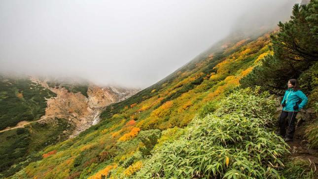 In Hokkaido wandern wir durch Herbstfarben...