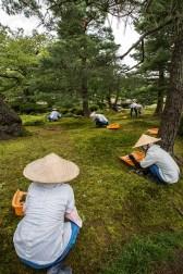 Die Pflege der berühmten Gärten bedeutet viel Arbeit.