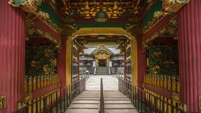 Eingangstor zum nördlichen Tempel. Innenfotos können wir keine bieten, da das Fotografieren nicht erlaubt ist.