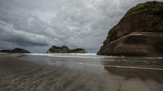 Cape Farewell, der nörlichste Punkt der Südinsel.