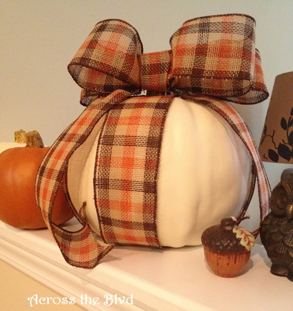 Pumpkin with Ribbon