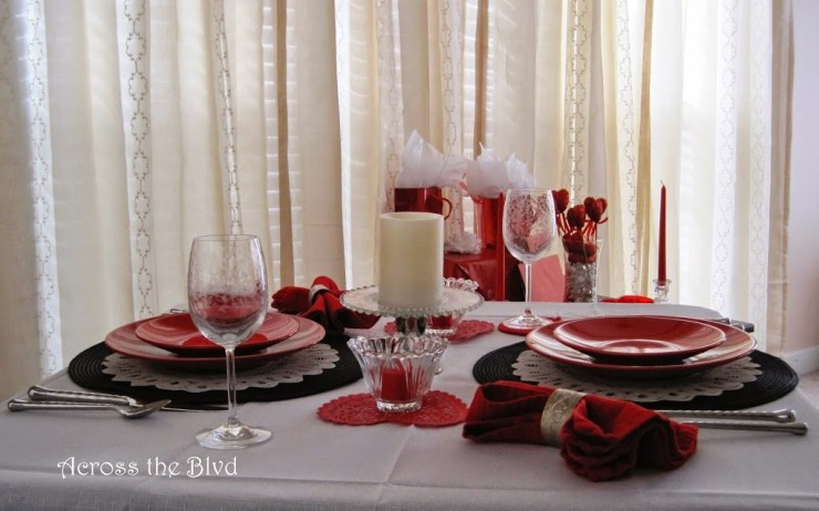 Table For Two~At Home for Valentine's Day