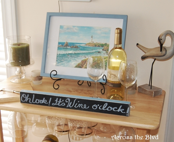 Wine Rack Decor Sign