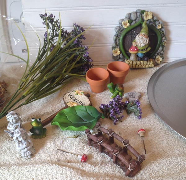 FAIRY GARDEN PIECES