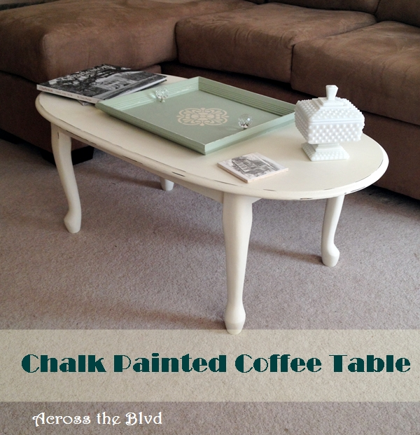 Table Makeover with Annie Sloan Old White