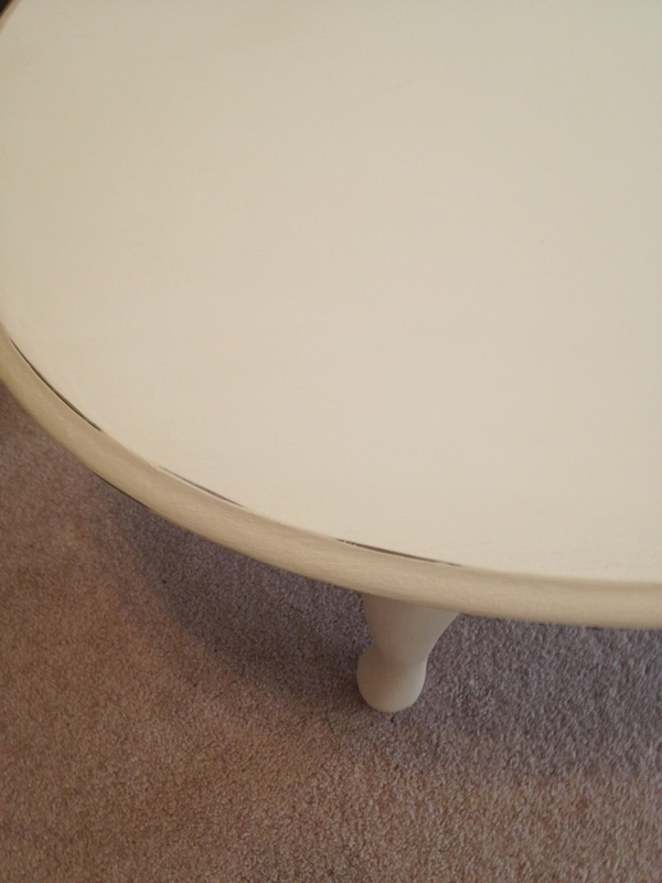 rim of table