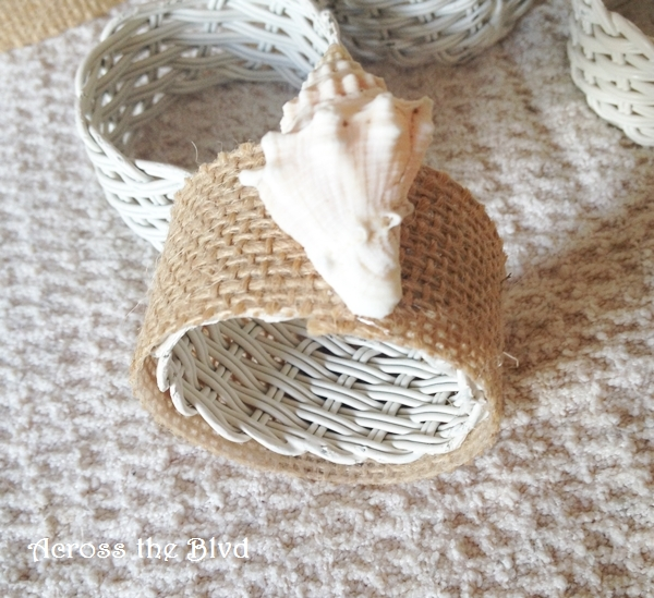 coastal napkin ring