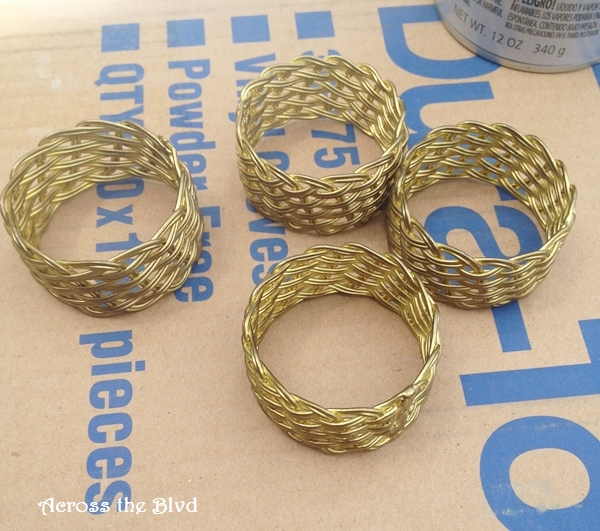old napkin rings