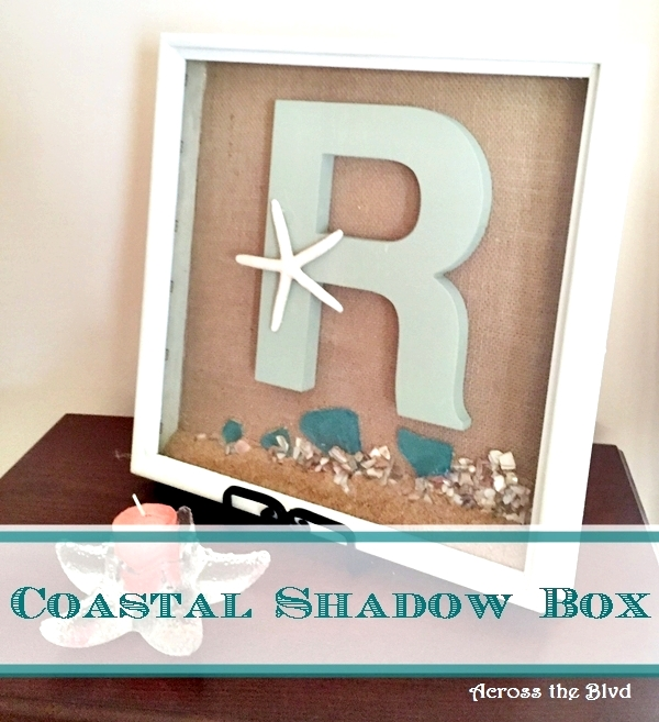 Coastal Shadow Box Across the Blvd