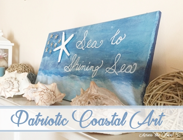 Patriotic Coastal Decor