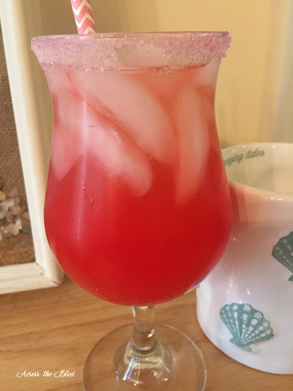 Watermelon Mixer, Vodka, Champange
